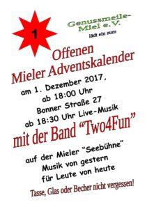 Mieler Offener Adventskalender @ Spießenhof | Swisttal | Nordrhein-Westfalen | Deutschland